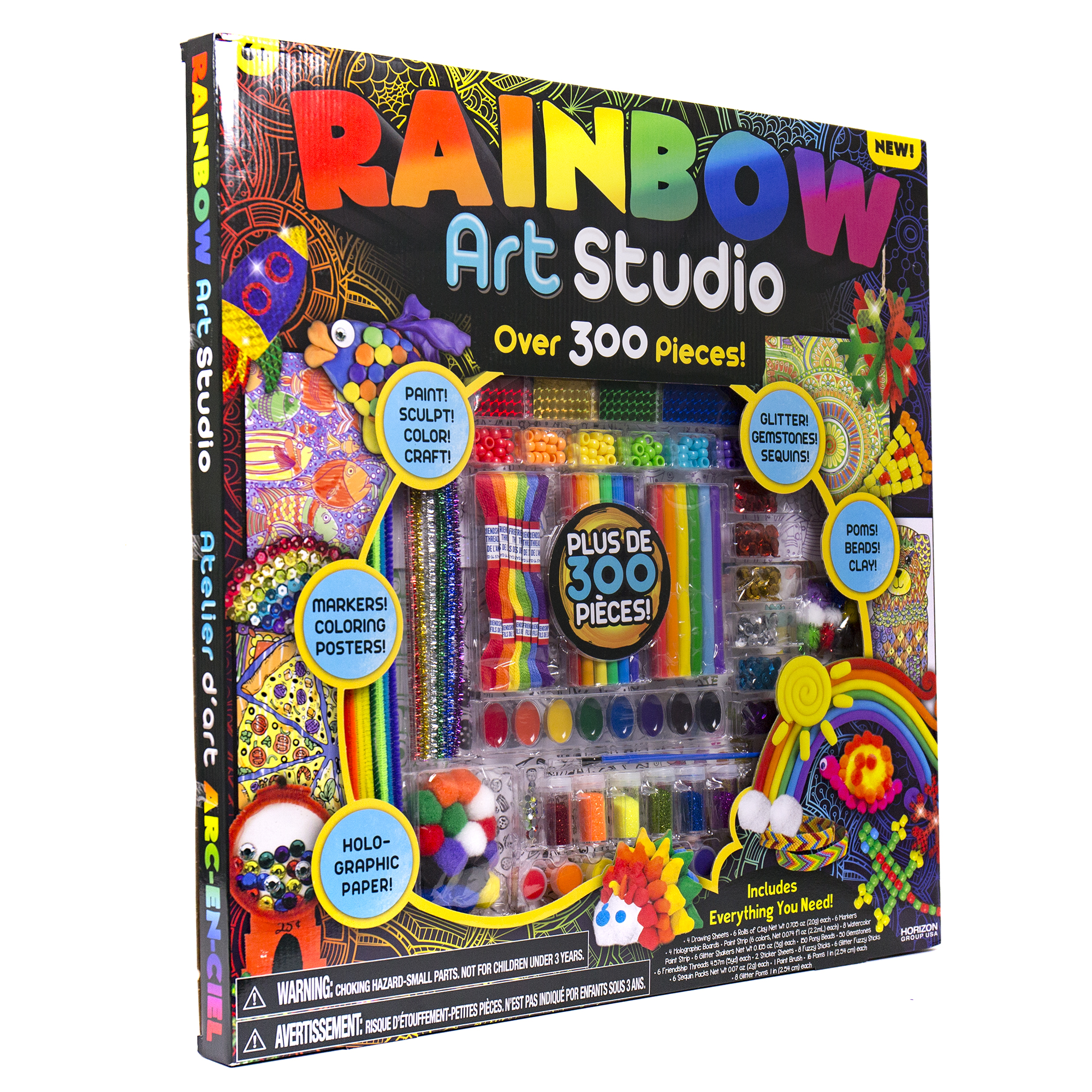 Horizon Group Rainbow Art Studio 1 Each Walmart Com