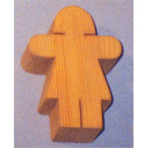 THE PUZZLE-MAN TOYS W-2036 Wooden Play Farm Series - Accessories - Daughter