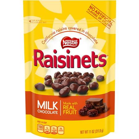 Nestle Raisinets Milk Chocolate, 11.0 OZ