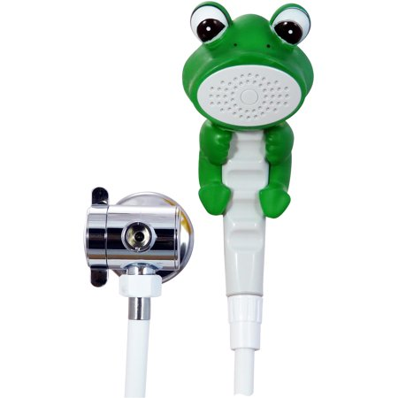 Conservco rdnf f froggie children 39 s shower head for Childrens shower head