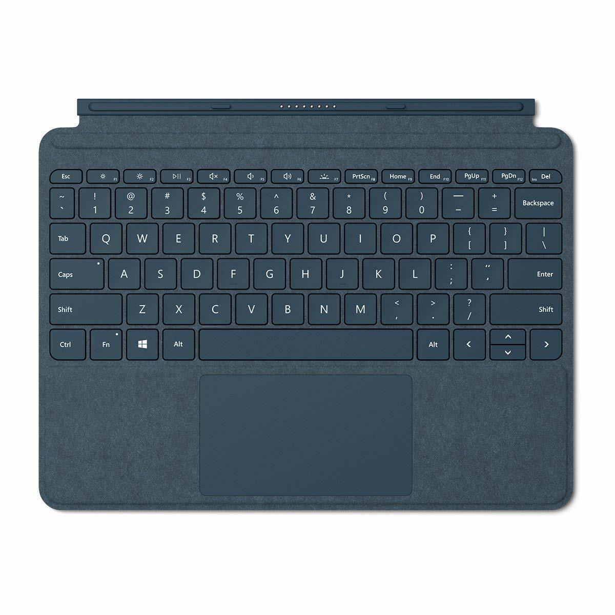 Microsoft Surface Go Signature Type Cover, Cobalt Blue