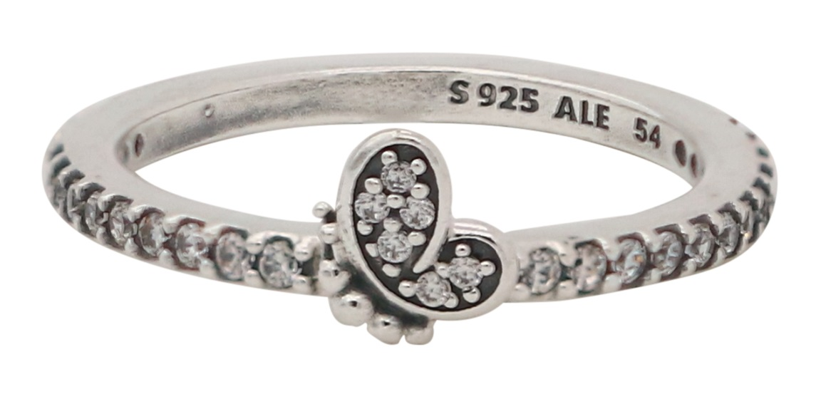 Crossing Bands Ring Size  54 usa 7