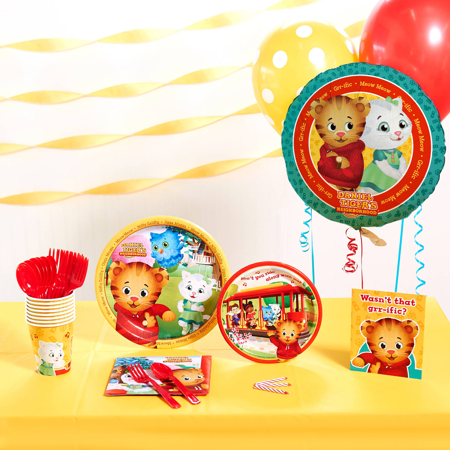 Daniel Tigers Neighborhood Party Theme