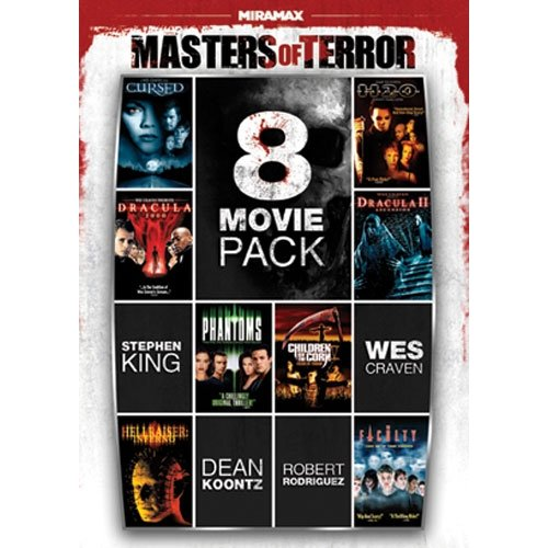 8 Film Masters Of Terror Pack, Vol. 1 (2-Disc): Dracula II: Ascension / Halloween: H20 / Children Of The Corn V: ... / ...