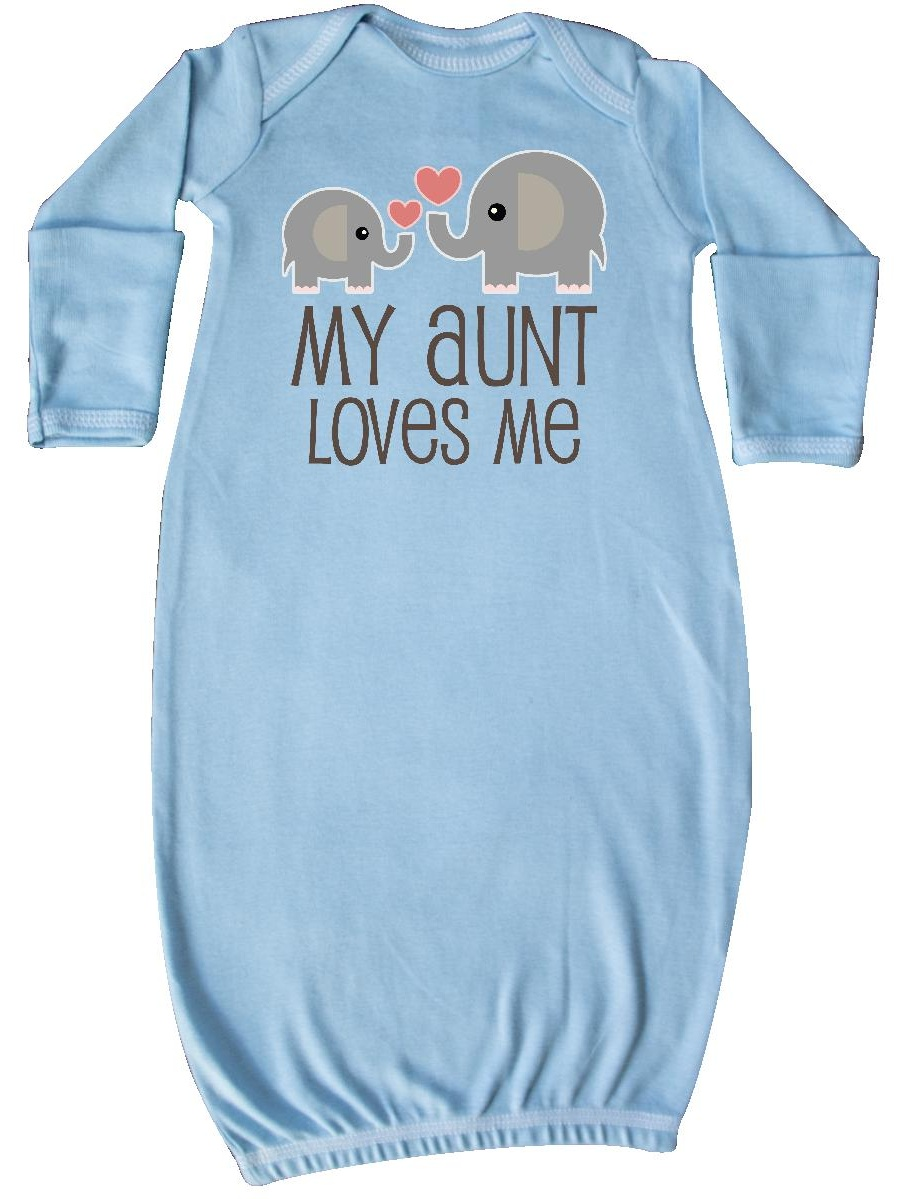 My Aunt Loves Me gift Newborn Layette