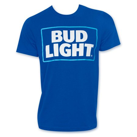 Bud Light New Logo Blue - Logo Light Blue T-shirt