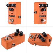 KOKKO Mini Analog Phaser Electric Guitar Phase Effect Pedal True Bypass Full Metal Shell