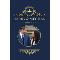 Harry and Meghan Engagement 11-27-2017 : Prince Harry Meghan Markle Royal Engagement Memorabilia Notebook