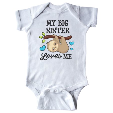 My Big Sister Loves Me with Sloth and Hearts Infant (Big Time Rush Love Me Love Me)