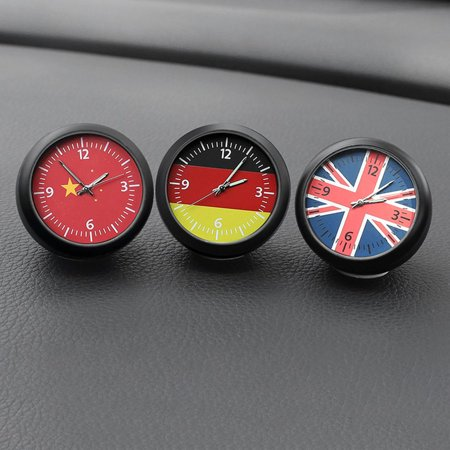 VENSE Car Cute Clock Watch Thermometer Air Outlet Vent Clip Perfume for All Vehicles - image 6 of 6