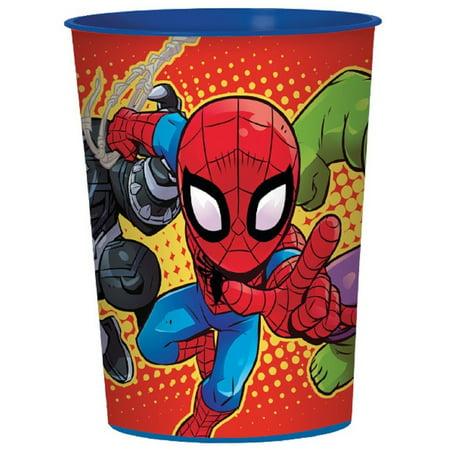 Party Favors - Super Hero Adventures - 16oz Plastic Cup - - Superhero Cups