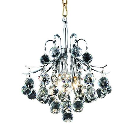 "Elegant Lighting Toureg 12"" 3 Light Elegant Crystal Chandelier - image 1 de 1"