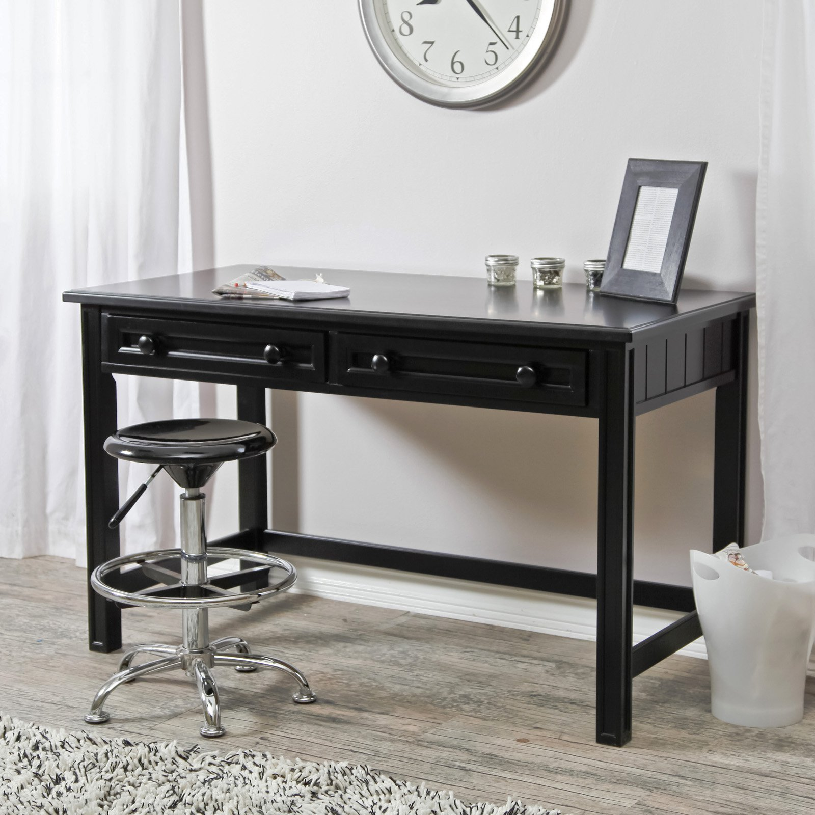 Belham Living Casey Writing Desk - Black