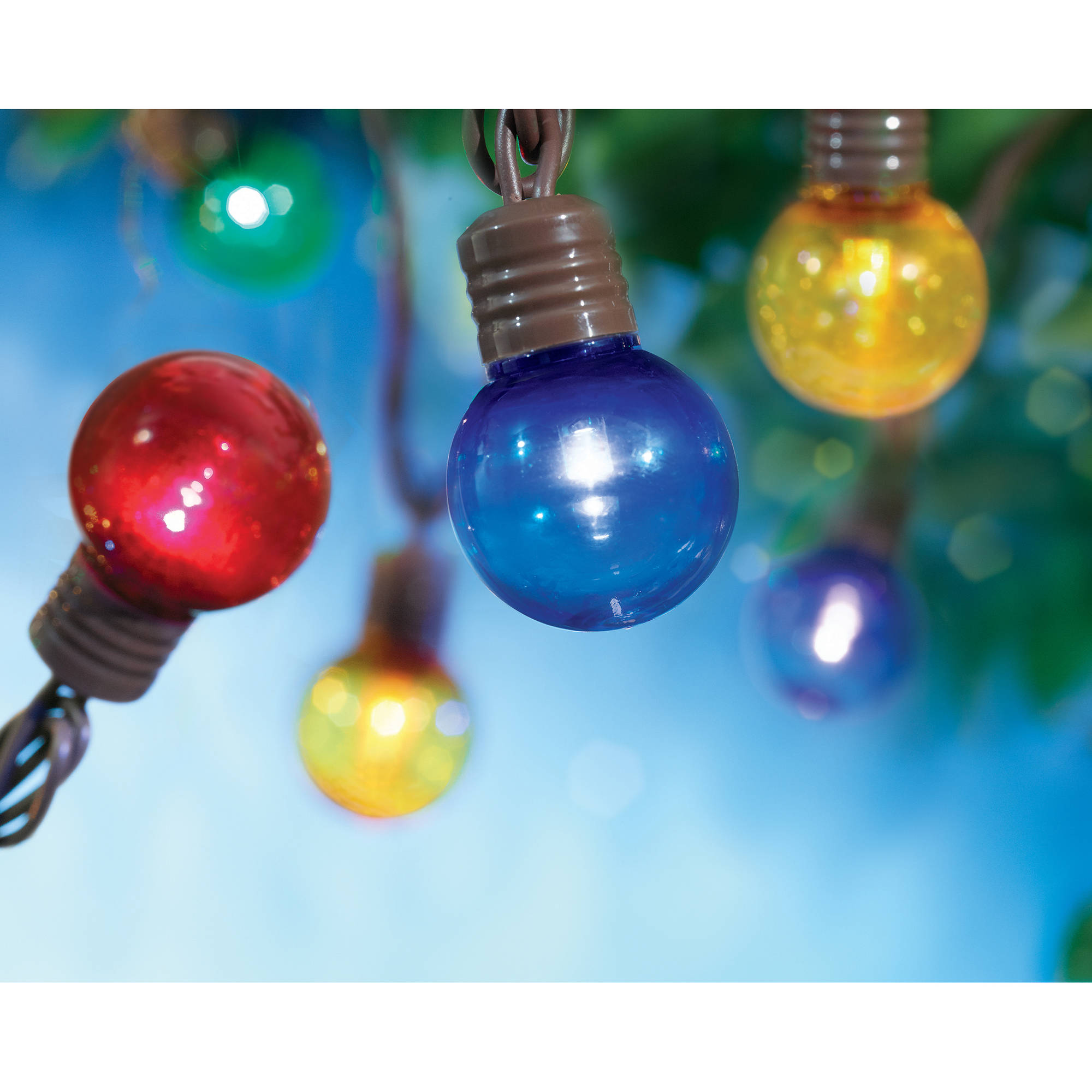 Mainstays LED Bulb, Color, Pack of 100