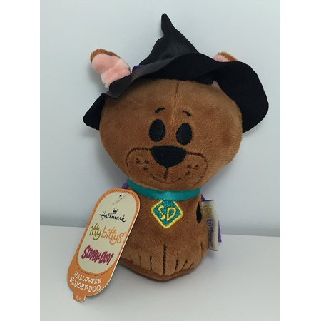 itty bittys Halloween Scooby-Doo Stuffed Animal, Made of plush fabric with lots of details By Hallmark