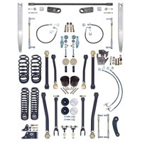 """NEW CURRIE JOHNNYJOINT 4"""" SUSPENSION SYSTEM,FRONT SWAY BAR LINKS,ALUM REAR SWAY BAR,FOR 07-18 JEEP JK 2D, CE-9808A"""