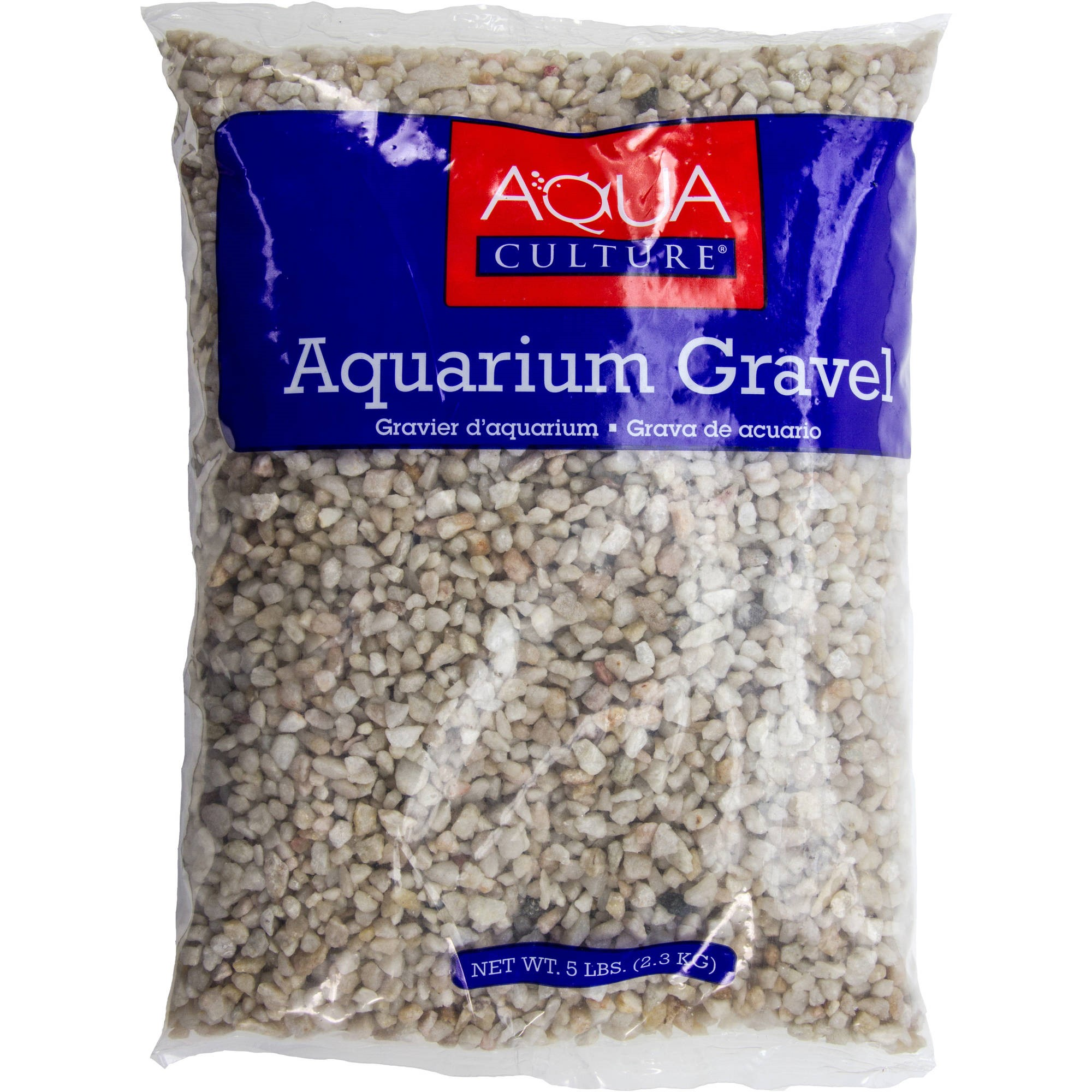 Aqua Culture Aquarium Gravel, Ocean Beach, 5-Pound