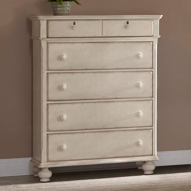 American Woodcrafters Newport 5 Drawer Master Chest