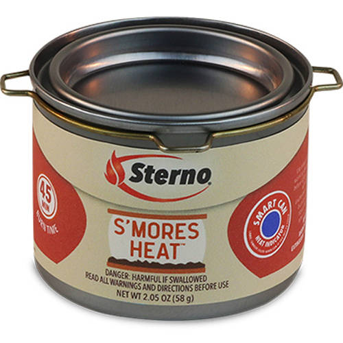 Sterno 20264 S'mores Heat Fuel Cans, 6-Pack