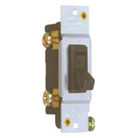 Morris Products 82048 Single Pole Toggle Switch Without Ears 15A-120V - image 1 of 1