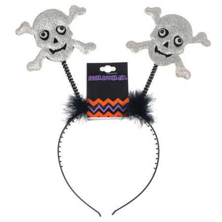 Morris Costumes Headband Skull Bopper - Head Boppers Wholesale