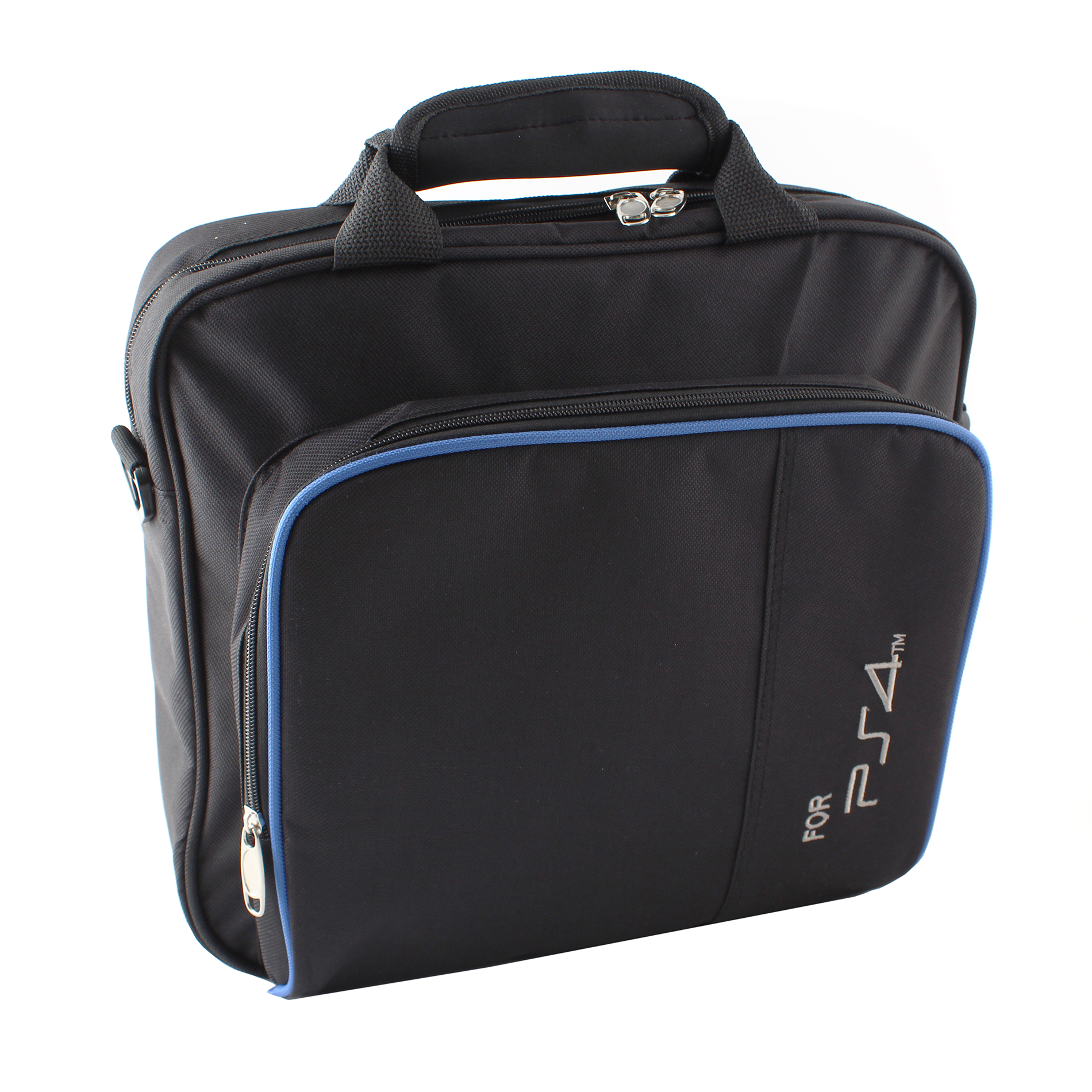 Black Carry Case Travel Bag For PlayStation4 PS4