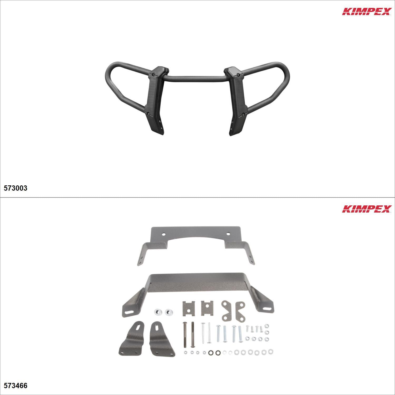 Kimpex Gen 2.1 Front Bumper Kit, Polaris Sportsman 450 2016-18 Black  #KK00001954_1