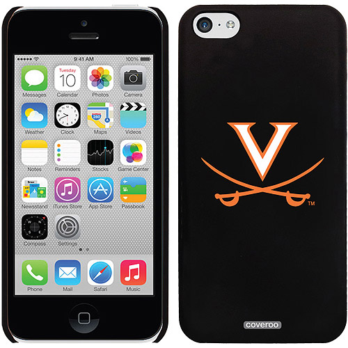 Coveroo University of Virginia Swords Orange Design Apple iPhone 5c Thinshield Snap-On Case