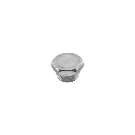 MACs Auto Parts Premier  Products 49-19758 Oil Pan Drain Plug - 7/8 - 16 Hex Head - Includes Nylon Washer - 215, 223 & 226 6 Cylinder - Ford