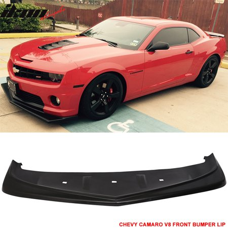 - Fits 10-13 Camaro V8 Z28 Look Style Front Bumper Lip Lower Spoiler Urethane PU