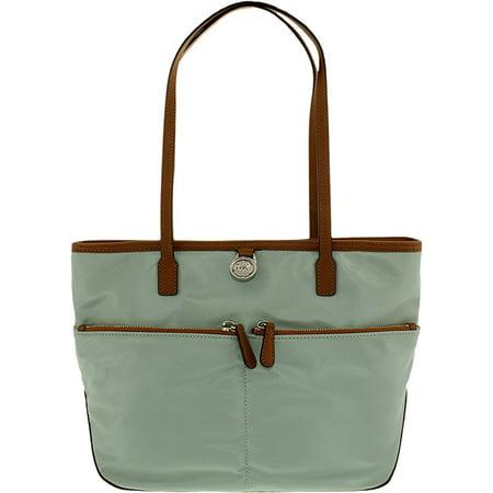 dfe592c597f8 Michael Kors Kempton Nylon Large Tote Bag Pink Orchard Luxury Brands