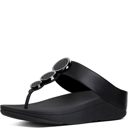 ed898af9c863b FitFlop 142-001   Womens Halo Toe Thong Sandals (9 B(M) US ...