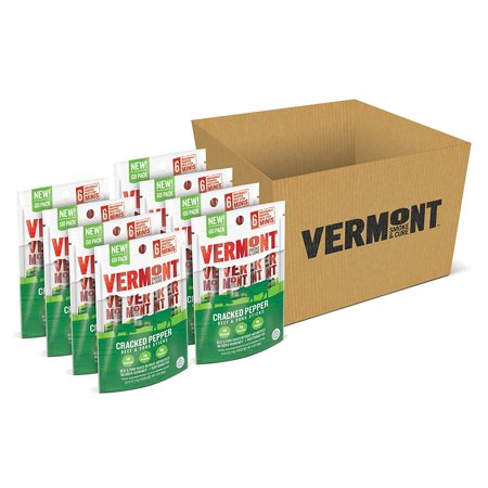 Vermont Smoke Amp Cure Mini Meat Stick Go Packs Beef Amp Pork