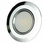 Lunasea Lighting LLB-56WW-01-BN Recessed 3. 5 inch 5W Cob LED With Brushed Trim Warm, White