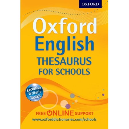 Oxford English Thesaurus For Schools  Paperback
