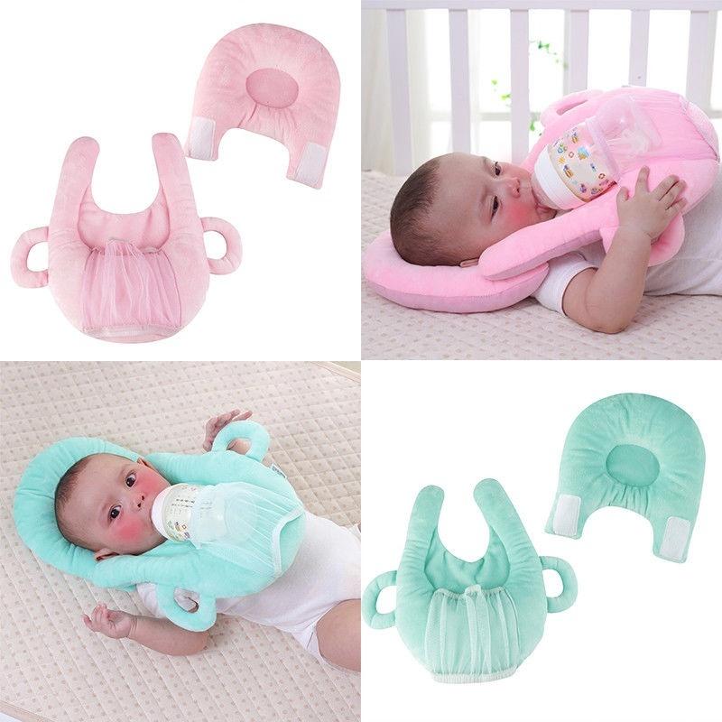 Baby Memory Foam Pillow Prevent Newborn Support Neck Anti Roll Infant Flat Head