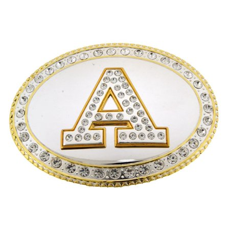 - Initial A Monogram Belt Buckle Letter Alphabet Western Cowboy Rodeo Texas Mirror