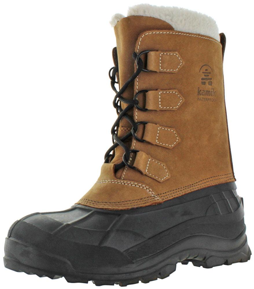 Kamik Alborg Men's Cold Weather Snow Boots Duck Toe Waterproof
