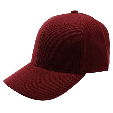 Enimay - Enimay Baseball Hats Caps Curved Bill Solid Color No Logo (MANY  COLORS SIZES AVAILABLE) Maroon 7 1 2 - Walmart.com 8c19a630d9d