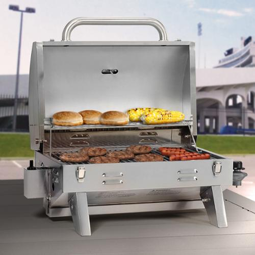 Smoke Hollow 205 Stainless Steel Tabletop Grill