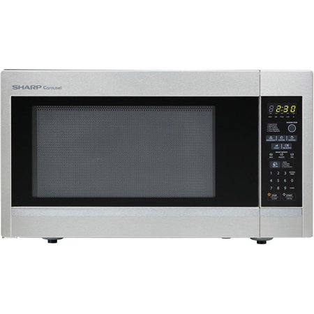 Sharp R551zs Carousel Countertop Microwave Oven 1 8 Cu Ft