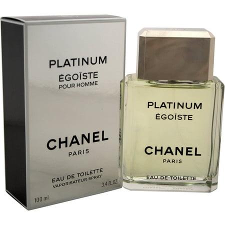 Egoiste Platinum by Chanel Eau de Toilette Spray, 3.4 fl oz