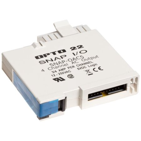 Opto 22 SNAP-OAC5 - SNAP Digital (Discrete) Output Module, 4-Channel, 12-250