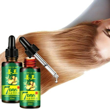 Weefy Unisex Hair Loss Treatment Ginger Hair Growth Care Essence Growth Fluid