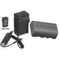 Battery + Charger for JVC GZMS120AEK, JVC GZMS120AU