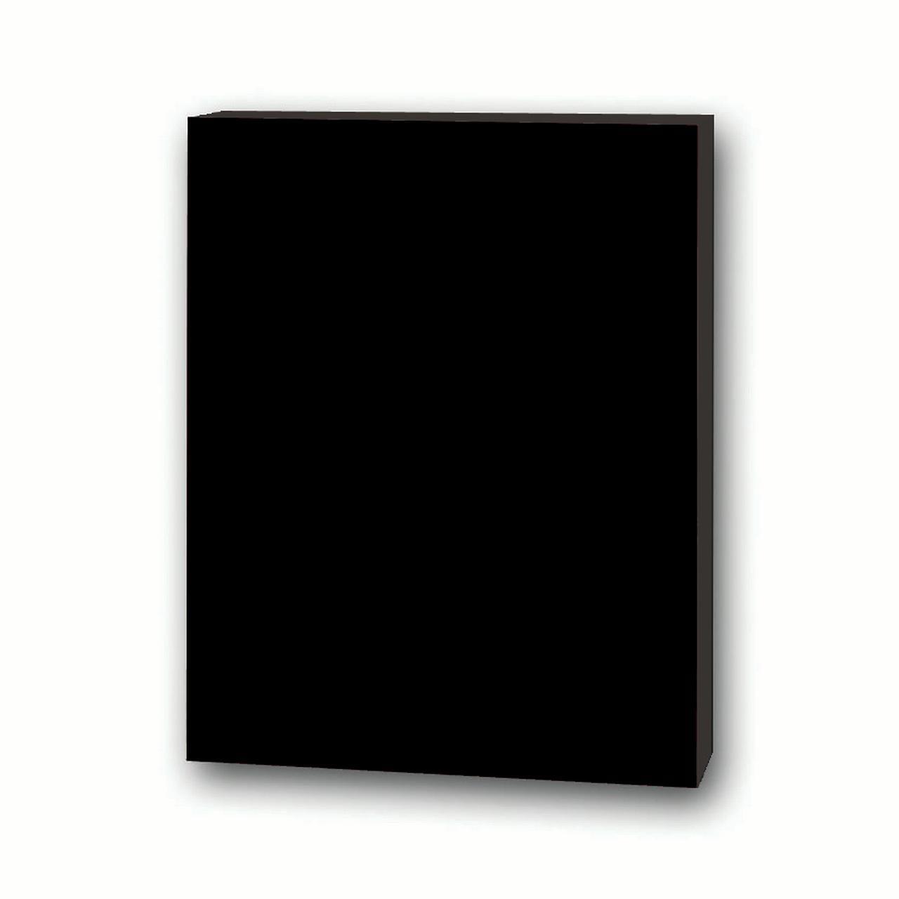 "20"" X 30"" 3 16 Total Black Foam Board 25 Pack by Flipside Products"
