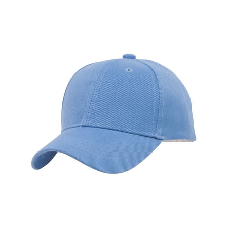 TopHeadwear Blank Youth Baseball Adjustable Hook and Loop Hat - Dark Grey - image 1 de 2