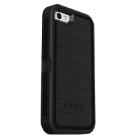 OtterBox Defender Pro Series Case for iPhone 5/5S/SE, Black