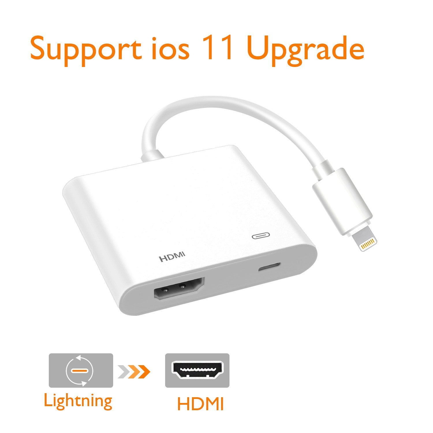 Lightning Cable Adapter,Lighting to HDMI Adapter Lightning Digital AV Adapter HDMI connector connecting for... by VIPUS