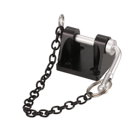 1/10 RC Trailer Hook Tow Chain Shackle Bracket for Axial SCX10 TF2 Crawler Part - image 3 of 5